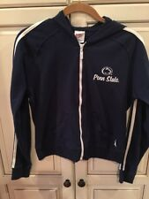M Soffee Youth Penn State Lightweight Hoodie Navy Blue White Stripe