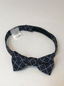 Janie and Jack Baby Toddler Child Navy Bow Tie Bowtie EUC