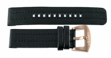 Brand New 22mm Black with Rose Buckle Levi's Watch Band Strap