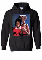 Alien E.T. Hugs Michael Jackson Men Women Unisex Top Hoodie Sweatshirt 2037