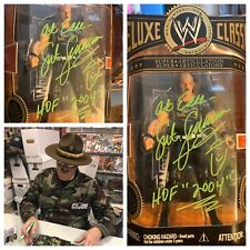 AUTOGRAPHED SGT SLAUGHTER DELUXE CLASSIC FIGURE