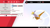 ✨SHINY✨ 6IV Latias - Pokemon Sword & Shield - The Crown Tundra LEGENDARY