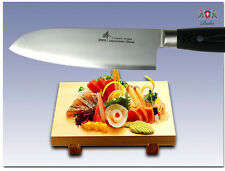 """Japanese Steel Chef's Santoku Knife about 7"""" Vegetable Cutlery Kitchenware Tool"""