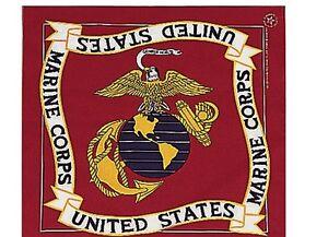 USMC US Marine Corps Halstuch Bandana Biker Headwrap USA Army Navy Marines Seals
