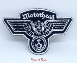 Motorhead Wingcut Band Rock Metal Iron/Sew on Embroidered Patch #681