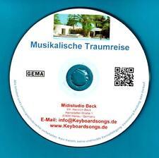 Midifiles KEYBOARDSONGS Musikalische Traumreise incl. TYROS/GENOS Spezialmidis