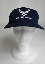 """U.S. Air Force Blue Embroidered Elastic Band Ball Cap 21 1/4"""" Circumference S/M"""