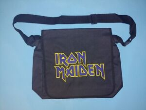 Iron Maiden  - Logo Shoulder Bag Messenger Bag Metal