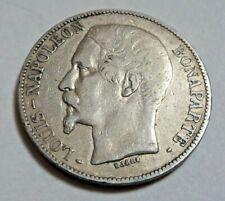 More details for 1852 silver 5 francs - louis-napoléon bonaparte  *