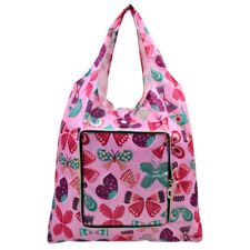 Everyday Deal Klein Travel Women Eco Shopping Bag Tote Handbag (Butterfly)