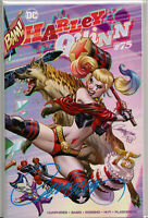 HARLEY QUINN #75B EXCLUSIVE COMIC BOOK ~ SIGNED BY J. SCOTT CAMPBELL w/COA ~ DC