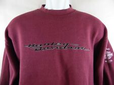 Harley Davidson Pullover Sweater Size M 50% Cotton 50% Polyester