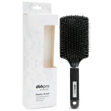 dbhpro Paddle Hair Brush with Boar and Nylon Bristles