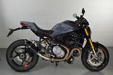 Ducati Monster 1200 (2017) Diabolus Satin Black Round XLS Carbon Outlet Exhaust