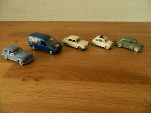 Lot 5 voitures miniatures anciennes SOLIDO (1)