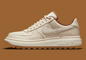Nike Air Force 1 Luxe Men's Shoes Pearl White/Ivory/Pecan/Gum DB4109-200 NEW