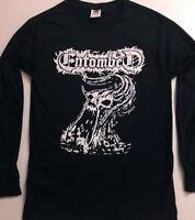 ENTOMBED LongSleeve T shirt Death Metal Gorement Epitaph Dismember Autopsy S-XL