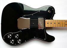Fender Classic Series '72 Telecaster Custom Electric Guitar MIM 2003 Black w/HSC