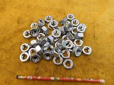 47 NEW METRIC NUTS machine bolts M14 x 2.00 ZINC COATED