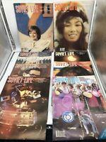 Lot of (8) Vintage Soviet Life Magazines Soviet Union Russian Russia 1980s