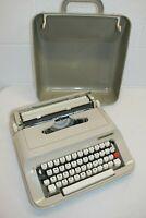 Vintage Underwood 319 Typewriter w/ Case/Cover Works, but MISSING RETURN ARM!!