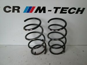 BMW E36 M3 3.2 evo convertible Front coil springs x2 pair  factory pink spots