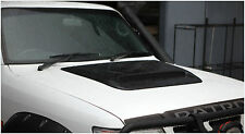 BRAND NEW CUSTOM ADD ON BONNET SCOOP FOR NISSAN PATROL GU SERIES 1997-2012