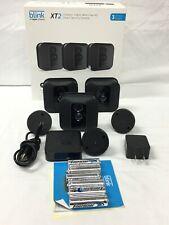 Blink Xt2 3-Camera Indoor/Outdoor Wire-Free 1080p Surveillance System Read*