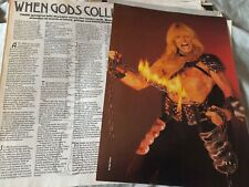 More details for jon mikl thor 1985 interview article / poster / photo