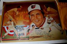 Brooks Robinson SIGNED Poster and Personally Addressed Mailer Box