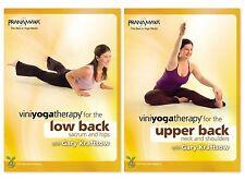 Viniyoga Therapy Complete Back Care 2 Disc Set 2012 Region 1 DVD