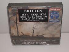 CHAN 8983/4 Britten War Requiem London Symphony Orchestra & Chorus Hickox 2CD