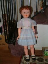 "Rare 35"" Horsman Vinyl Doll ""Princess Peggy Playtime"" Doll - Usa Made"