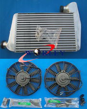 Aluminum INTERCOOLER & Fans For FORD FALCON BA BF XR6 TURBO WITH MOUNTING KITS