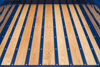 Bed Strips Chevy 1967 - 1972 Steel Chevrolet GMC Short Bed Stepside Truck Wood