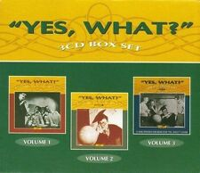 Yes What? Volumes 1 2 & 3 6cd Australian Comedy Radio Series