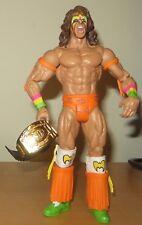Ultimate Warrior WWE Mattel Wrestling Figure Wrestler Legend Flashback + Belt