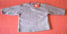 NEU CAKEWALK Fleece Pulli Größe 80 Sweat purple-grau meliert kuschelig warm