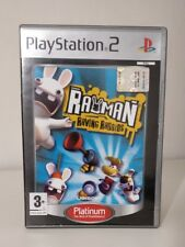 Rayman Raving Rabbids Ps2 Playstation 2 Ps 2 come nuovo , italiano! Completo