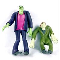 Lot 2PCS Scooby-Doo Classic Frankensteion & Green Creeper Figure Boy Toy