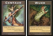 Centaur / Wurm Token | EX | Your Move Games Tokens | Magic MTG