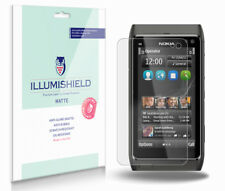 iLLumiShield Matte Screen Protector w Anti-Glare/Print 3x for Nokia N8