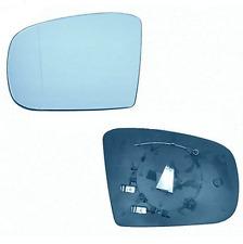 Spiegelglas Außenspiegel Links Heizbar Asphärisch Blau MERCEDES W163 98-05