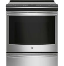 """Ge Profile 30"""" Stainless Slide-In Induction Convection Range-Phs930Slss"""