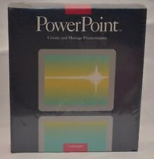 NEW Vintage PowerPoint Software By Forethought (1987) for Apple & Macintosh