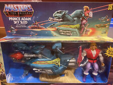 Mattel Masters of the Universe HE-MAN ?Prince Adam's Sky Sled Mint In Box