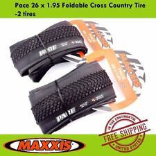 Maxxis Pace 26 x 1.95 Tyre MTB Mountain Bike Foldable Cross Country Tire-2 tires