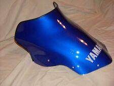 NEW YAMAHA SNOWMOBILE WINDSHIELD FX NYTRO  08 TO 14 OMK 8GL-77210-20 BLUE W/LOGO