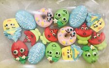 24 x Edible Shopkins Cupcake Toppers Decorations Circus Party Cakes Royal Icing