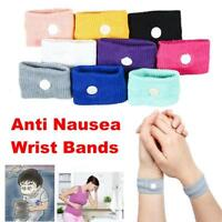 4/2x Anti Nausea Morning Sickness Motion Travel Sick Wrist Bands Car Sea Plane r